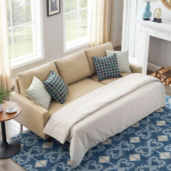 Convertible Sofa Bed Sectional Futon Couch With Storage Pull Out Sleeper Daybed