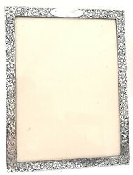 Antique Marcus And Co. Sterling Silver Picture Frame