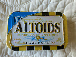 Altoids Cool Honey Curiously Strong Mints 1 Sealed Tin Very Rare Collectible