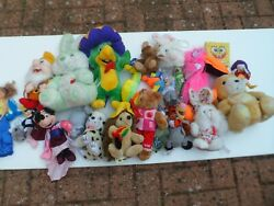 Large Soft And Stuffed Toys - Few Are Very Rare Over 20 Years Old - 6