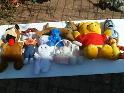 Large Soft And Stuffed Toys - Few Are Very Rare Over 20 Years Old - 2