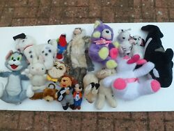 Large Soft And Stuffed Toys - Few Are Very Rare Over 20 Years Old - 5