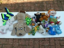 Large Soft And Stuffed Toys - Few Are Very Rare Over 20 Years Old - 3