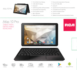 Rca Atlas 10 Pro 10 Android Tablet - 2gb - Rct6b06p23 H - Official Store - Can