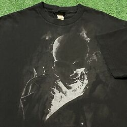 Ghost Rider Marvel T Shirt Mens Large Adult Black Comics Movies USA Motorcycle