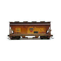 Mtl Micro-trains 09253009 2-bay Covered Hopper Weathered Sws 25030