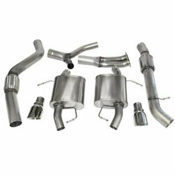 Corsa 07-12 For Bmw 335i Touring E91 Polished Sport Cat-back Exhaust