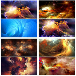 Abstract Clouds Canvas Wall Art Print Painting Cloud Poster Bedroom Decors