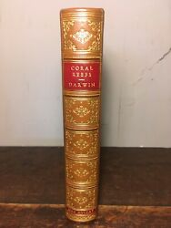 Charles Darwin - Structure And Distribution Of Coral Reefs -1889- Third Edition