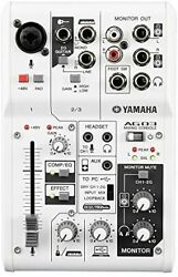 Yamaha Yamaha Webcasting Mixer Audio Interface 3 Channel Ag03 Compatible With C