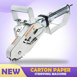 Pneumatic Trimming Single Claw Waste Carton Paper Stripper Stripping Machine New