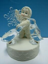 2003 Snowbabies A Baby For Everyday - Sunday's Child Is Special In Every Way