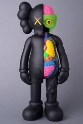 Kaws Medicom Toy Open Edition 2016 Black Companion Flayed Dissected 11 Inch