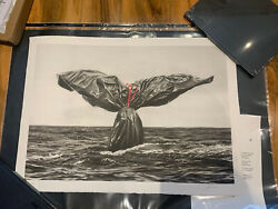 Murmure Garbage Tail Main Edition Xx/80 With Coa Art In Hand