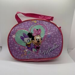 Minnie Mouse Fishing Pole Net Fish Playset Carrying Bag Pre Owned