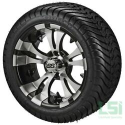 12 Inch Ss Lsi Hd Aluminum Alloy Golf Cart Car Rim Wheels And Tires Mounted