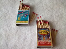 Firecracker Label Atomic And Colt 44 Firecracker Label 2 Match Books Labels Only