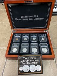 The History Us Uncirculated Coin Collection 8 Coin Set With Box