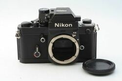 Excellent+ F2 Photomic As Black 35mm Slr Film Camera From Japan 128279