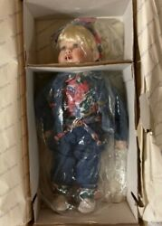 Collectible The Hamilton Collection Hand Crafted 1994 Hc Porcelain Miss Priss