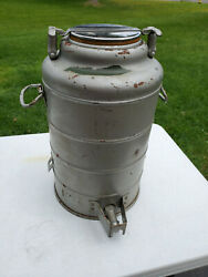 Vintage Large 18 Metal Thermos Stanley It Will Not Break Landers, Frary And Clark