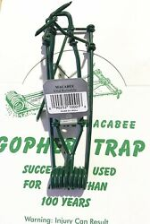 Maccabee Gopher Trap Steel Gopher Trap Mole Rodent Tunnel Traps Spring Loaded