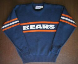 Vintage Chicago Bears Cliff Engle Sweater 80s Mike Ditka Large