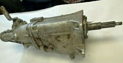 1969-74 Muncie 4 Speed Transmission 3925661 And Hurst Competition Plus Shifter