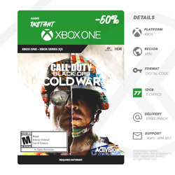 Call Of Duty Black Ops Cold War Xbox One / Series X Instant Digital Code