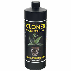 Clonex Cloning Solution - Propagation And Rooting Solution - 1 Qu - Free Shipping