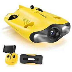 Mini Underwater Drone, 4k Uhd Underwater Camera For Real Time Viewing, Remote