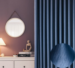 Metallic Luster Best Blackout Curtains 95 Shading Solid Drapes For Living Room