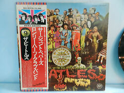 Beatles Sgt Peppers Japan Apple Stereo Lp Eas-80558 Collectorsnice