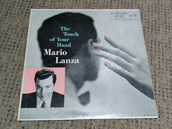 Mario Lanza Touch Of Your Hand 33 1/3 Rpm Album Record Perfect Lm1927 Original