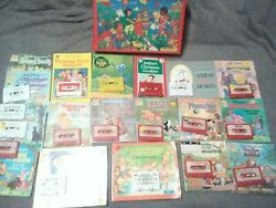 Disney Book And Audio Cassette Lot Of 18 14 Match/ 4 Misc