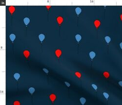 Star Circus Baby Nursery Primary Sideshow Circus Spoonflower Fabric By The Yard