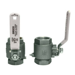 Groco Ibv-1250-s 1 1/4andquot Npt Stainless Steel In-line Ball Valve