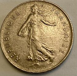 Two France Coins-republique Francaise - 5 Francs - Year 1973 -price Is For Two