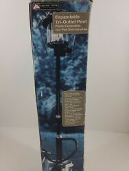 Propane 2-piece 30 Tri Outlet Distribution Post With Carry Bag Ozark Trail
