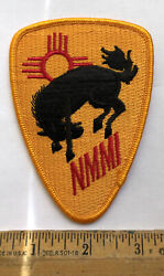 Vintage Us Army Nmmi College Patch New Mexico Military Institute Broncos Roswell