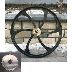 Cdhpower 26 Rear Mag Wheel Rim And 22t Flywheel And 36t Sprocket-motorized Bicycle
