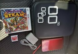 Nintendo New 3ds Xl System W/charger And Games Case Bundle Tested Works