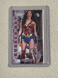 Gal Gadot 3/3 Actress Wonder Woman👙mh Rubbed Out Millhouse Tobacco Card 273🔥