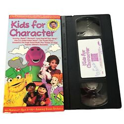 Kids for Character VHS $22.99