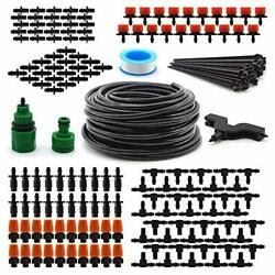 Irrigation Drip Kit 130ft/40m Adjustable Automatic Micro Garden Irrigation Syst