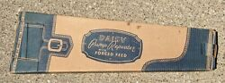 Vintage Daisy Model 25 Engraved Pump Repeater Bb Gun Rifle Box Only