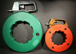 Greenlee Textron 100 Ft Steel And Stream Line 50ft Steel Gardner Bender Fish Tapes