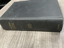 Vintage 1945 Holy Bible Scofield Reference Edition Oxford Cyclopedic Concordance