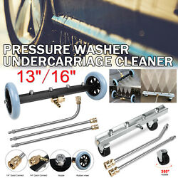 Pressure Power Washer Undercarriage Under Car Cleaner 13/164000 Psi Water Broom