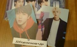 Bts The Best Universal Music Store Limited Edition 2 Photocards Set Jin No Cd